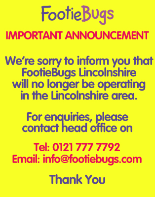 FootieBugs lincolnshire - fun football for kids!
