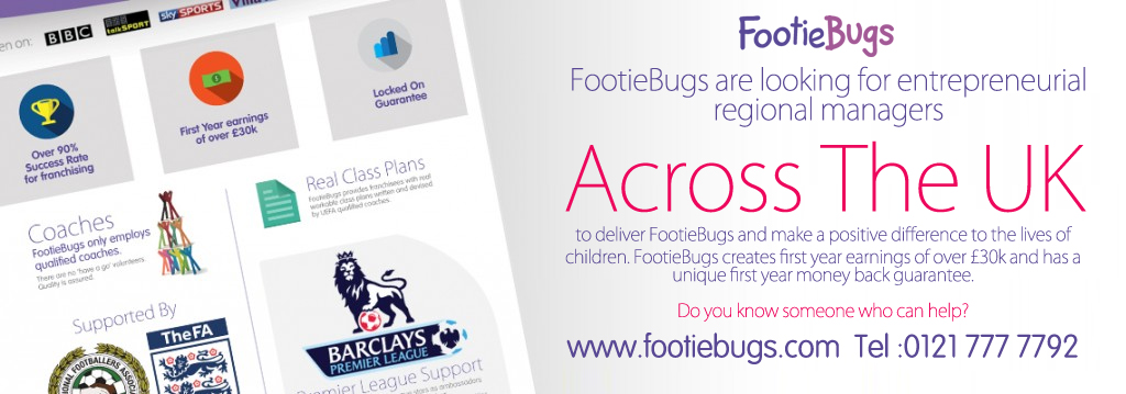 Is Football Your Life? I FootieBugs, A Childrens Football Franchise