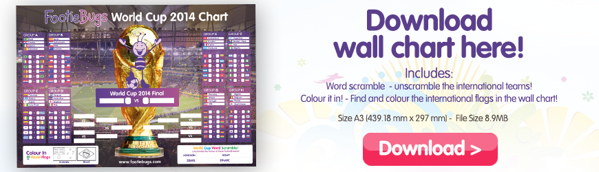 Download the footiebugs world cup wallchart here!