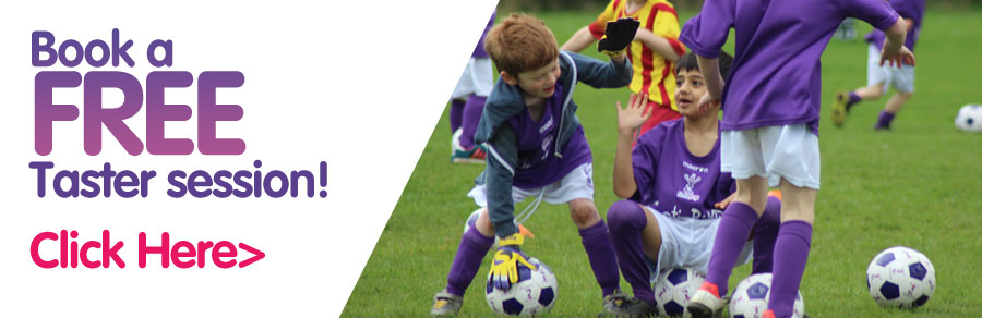 Contact us to book a Fun FootieBugs Session here!
