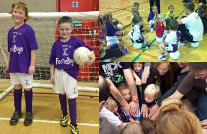 FootieBugs - fun football for kids for 4-12 years!