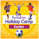 Our Eggcellent Easter-Themed FootieBugs Holiday Camp is now underway!