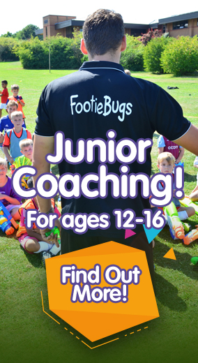 An action packed FootieBugs football holiday camp for kids aged 4 to 12 years!