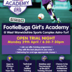 FootieBugs Girls Academy – Open Trials!